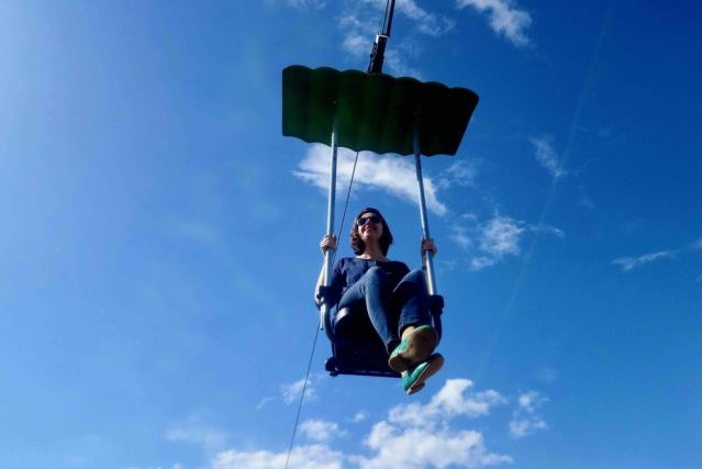 The sky dive
